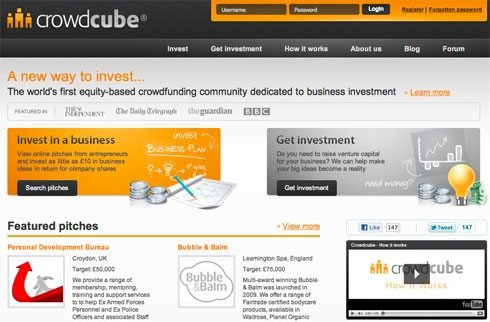 Crowdcube creates a new investment site for social entrepreneurs