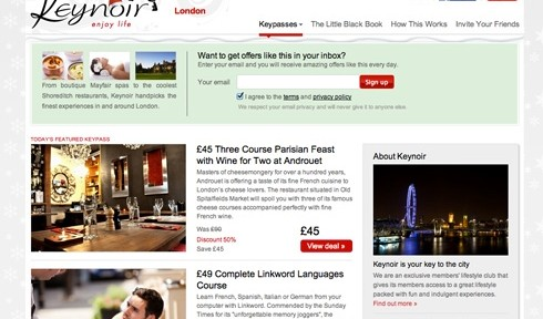 Keynoir deals london