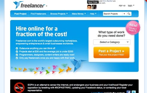 Freelancer.com becomes the worlds largest outsourcing marketplace