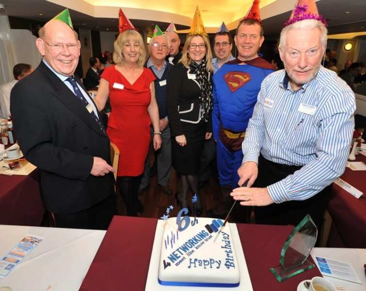 UKs largest networking group celebrates sixth birthday in super human style