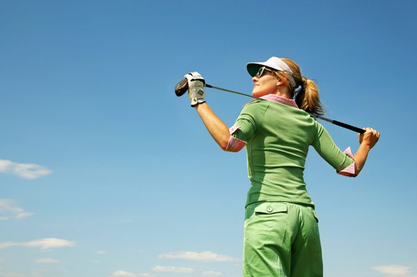 Doing business on the golf course especially if you are a woman