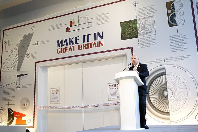Vince Cable launches Make It In Great Britain Exhibition at the Science Museum