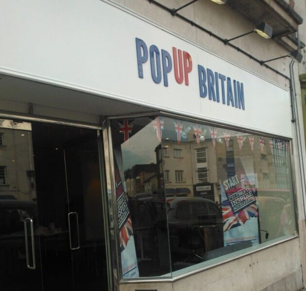StartUp Britain's PopUp Britain shop, offering start-up businesses a unique low-cost opportunity to experience life on the high street.