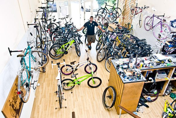 Prince's Trust & RBS A-Z of Young Businesses: 'F' - Frank Colzie Re-Cycle Bristol