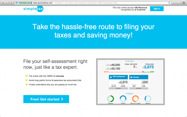 Reviewed: SimpleTax