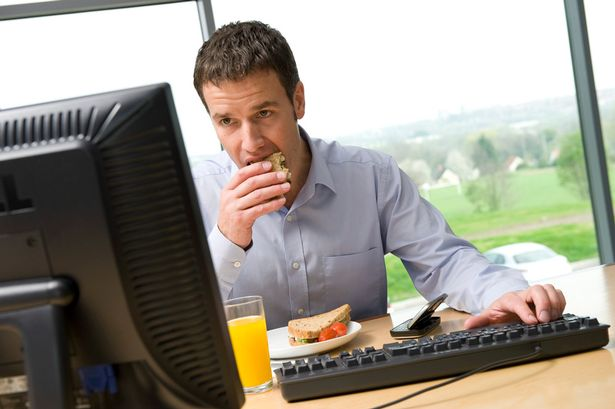 Government Health Minister Says Eating At Desks Is U0027disgustingu0027, But Should  It Be Banned?