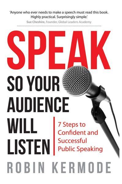 Bookshelf: SPEAK (so your audience will listen)