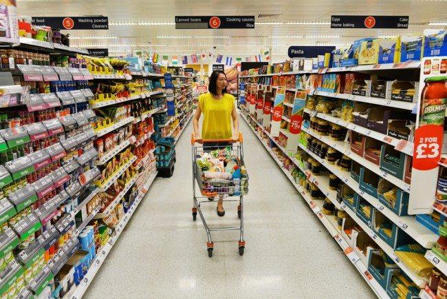 Food Shopping Sainsbury