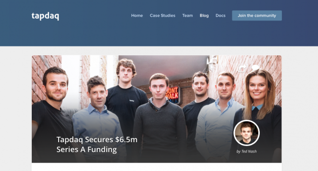 Young UK entrepreneurs, Tapdaq, secure seven-figure funding