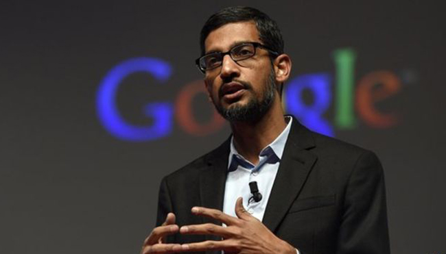 Google boss becomes highest-paid in US with £138M deal