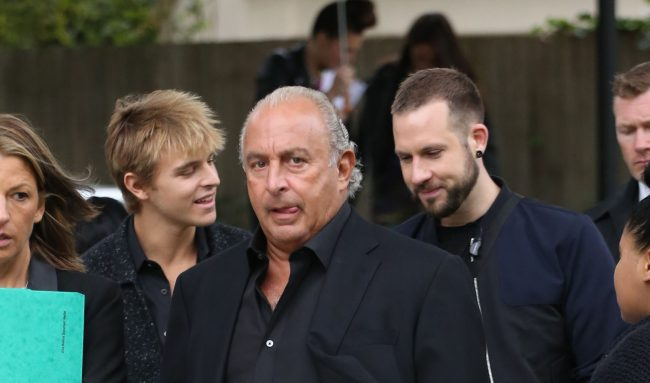 Sir Philip Green Could Help Draft Law To Protect