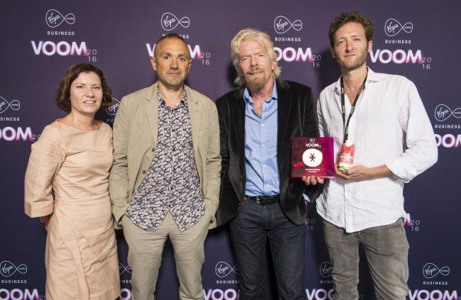 Virgin Media Business #VOOM 2016 Live Finale at ITV Studios, London, Britain on 28 June 2016