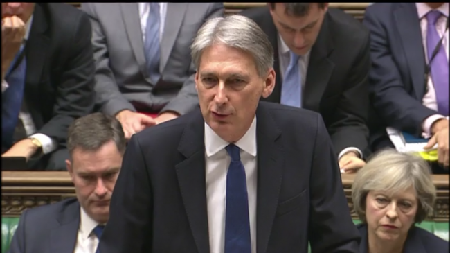 Autumn Statement Philip Hammond