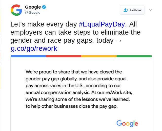 Google accused of 'systematic' underpayment of women workers