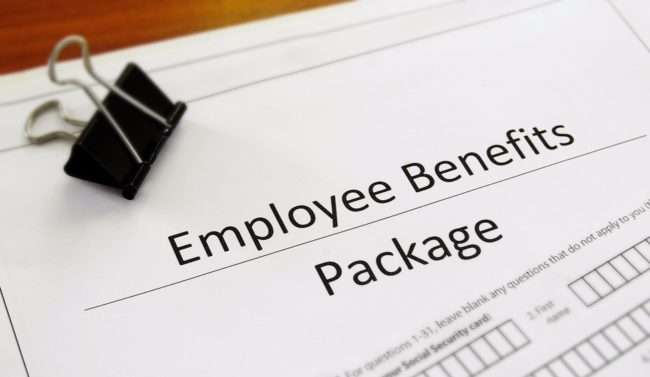 43% of employers do not provide regular updates on their employee benefits