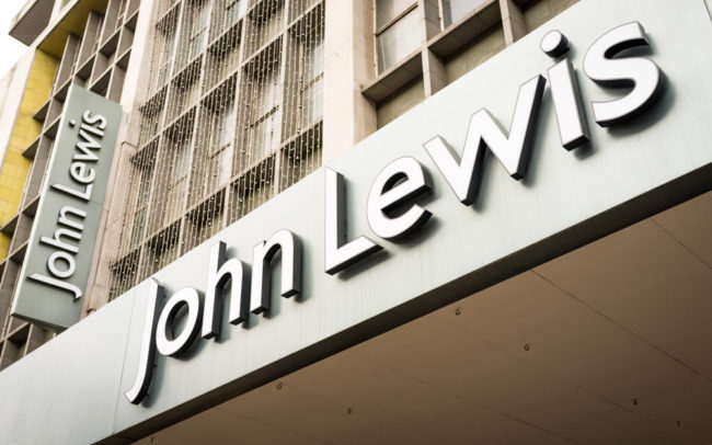 Profits fall at John Lewis in hard market