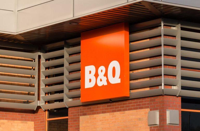 B&Q sales dive 7.7% in second quarter