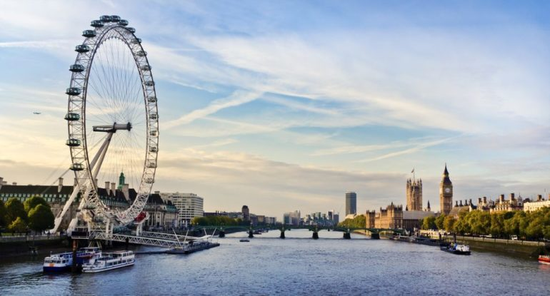London ranked the most prosperous spot in the UK