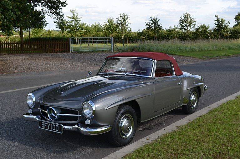 Value Of Classic Cars Down In A Year As There Arent Enough - Mercedes classic cars