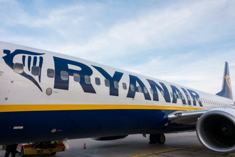 Ryanair Adds Fewest Customers Since March After Scrapped Flights