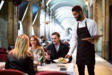 waiter service sector