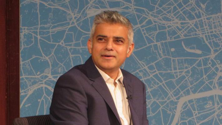 sadiq khan London pitch