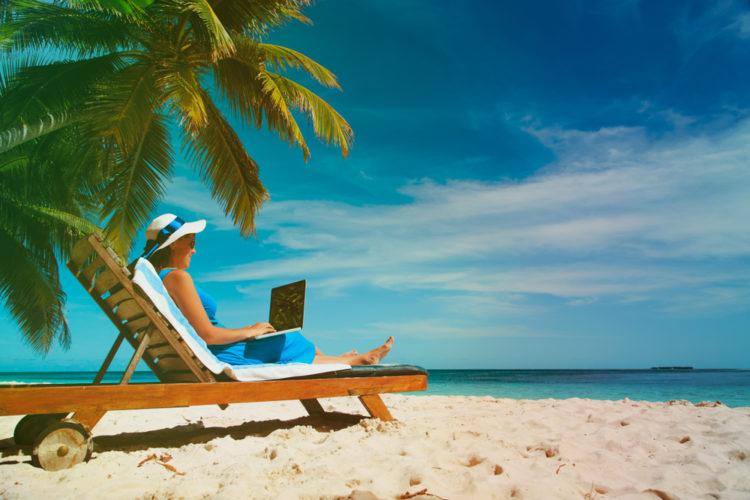 sunny vacation