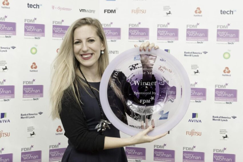 2018 FDM everywoman in Technology Awards.