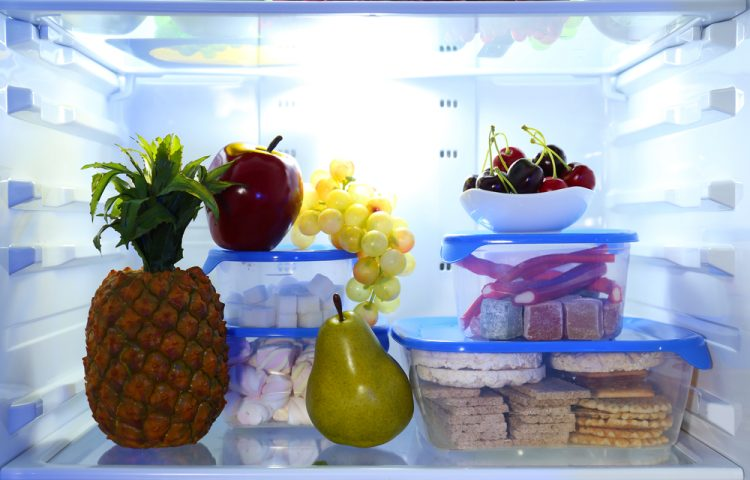food in office fridge