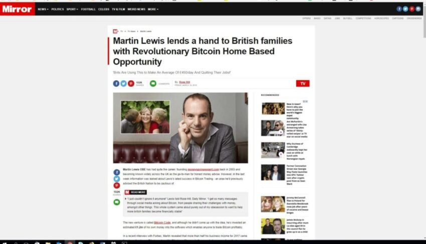 martin lewis dating websites