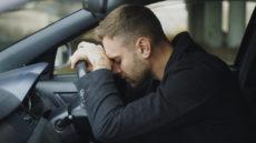 stressed motorist