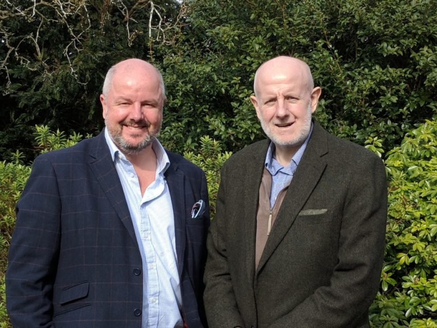 Steve Shutts with brother David Shutts OBE - ASTRiiD founder