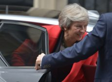 blow to Theresa May's Brexit deal