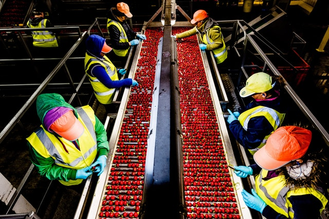 A production line