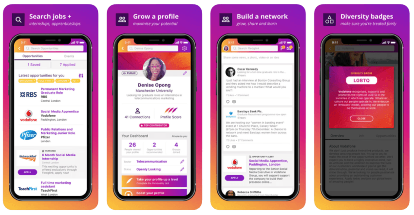 A game changing early careers mobile app - Fledglink - has launched in UK and ruffling feathers in online professional networking space