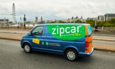 Zipcar van