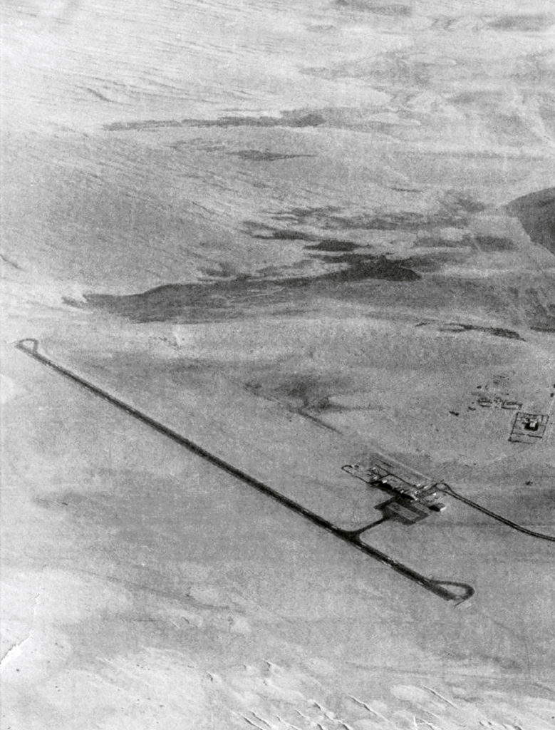 First Airfield At Dubai International Airport In 1959 #01