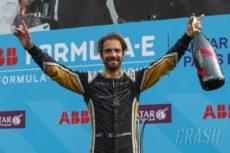 Jean-Éric Vergne the reigning ABB FIA Formula E Champion