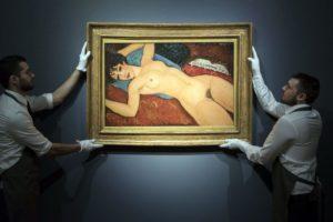 medeo Modigliani's Nu couché